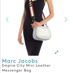 🔴Marc Jacobs NO STRAP Empire City mini bag
